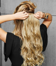 22 inch Curly Extension - How to - 1